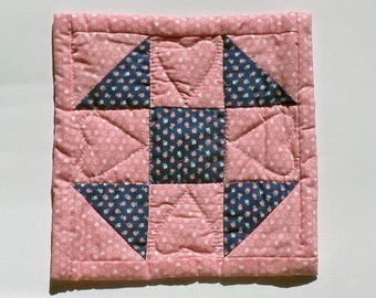 Handquilted square