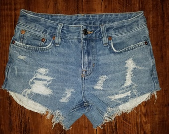 POLO by Ralph Lauren Distressed Cutoff Booty Shorts