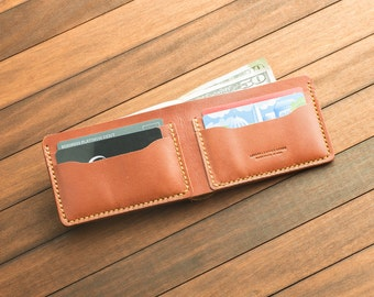 Chestnut  Classic Handmade Leather wallet
