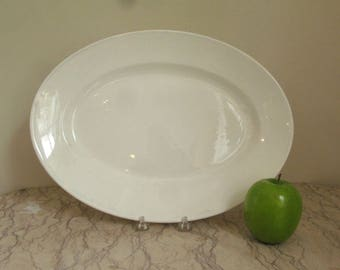 antique French porcelain platter