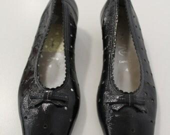 Bow Ballet Shoes (Black)