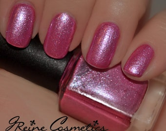 Pink Champagne - Pink Sparkle shimmer Nail Polish