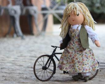 Marianne - handmade Waldorf rag doll