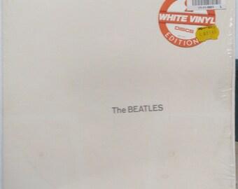 Beatles Lp White Album SIS McCartney Harrison Starr Lennon Black Bird White Vinyl