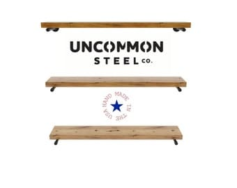 Pipe Shelf, Barn Wood Shelves, Pipe Shelves, Barnwood Shelving, Floating Shelves, Reclaimed Wood Shelf, Industrial Decor, Rustic Industrial