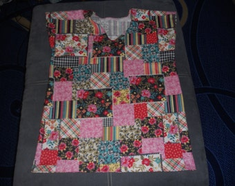 Patches shirt, smaller version