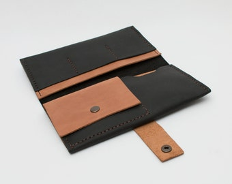 Wallet ladies leather - hand made