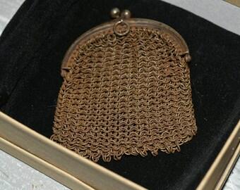 1920-1930's Metal Mesh Coin Purse