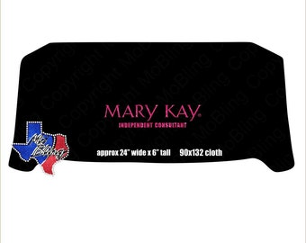 Mary Kay Glitter Table Cloth Cover