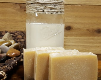 Goat Milk Soap ( Fragrance Free  approx. 4+oz. )