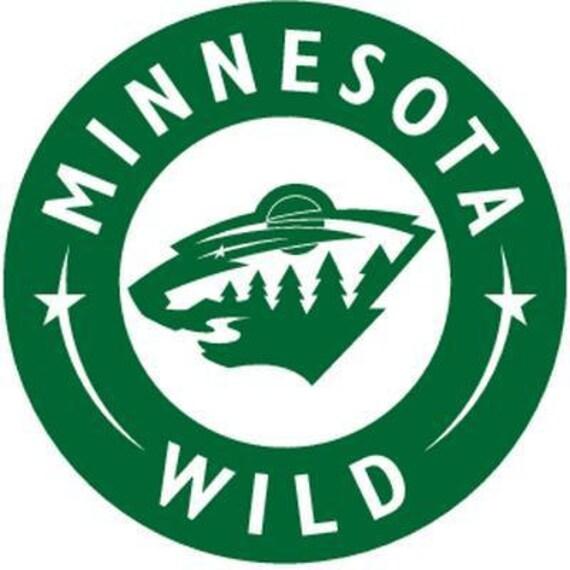 Vinyl Decal Sticker - Minnesota Wild Decal for Windows, Cars, Laptops, Macbook, Yeti, Coolers, Mugs etc