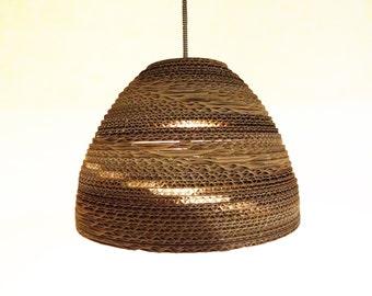 WRIGHT (Wilbur) | Handmade Cardboard Pendant Lamp