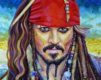Captain Jack Sparrow (Pirates of the Caribbean) / Капитан Джек Воробей (Пираты Карибского моря)