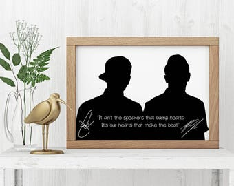 "Twenty One Pilots ""It Ain't The Speakers"" Art Print"