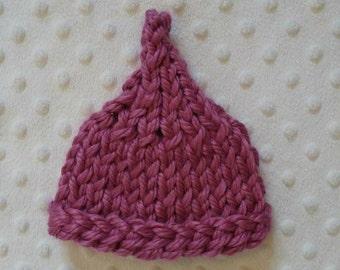 Newborn Pixie Kiss Hat