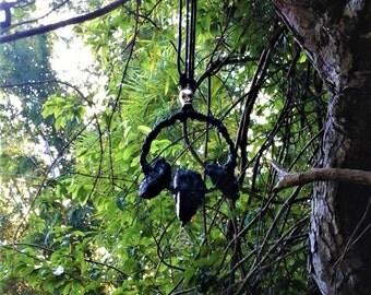 The Gatekeeper's Amulet. Black Tourmaline Amulet