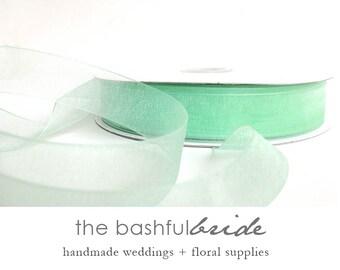 Mint green wedding, 5 yards, mint green ribbon, mint decor, mint wedding reception, mint and pink, mint and blue, mint ribbon