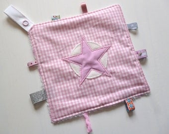 Soother cloth stuffed cloth blanket baby