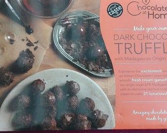 Make Your Own Dark Chocolate Truffles