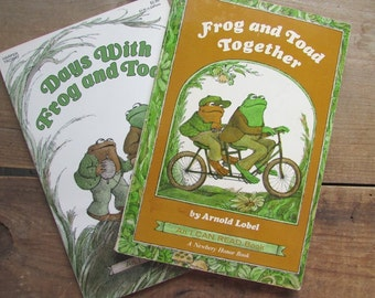 Frog and Toad Books Set of 2 Days With Frog and Toad Frog and Toad Together Newbery Award Arnold Lobel
