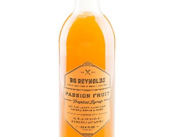 BG Reynolds Passion Fruit syrup 375ml