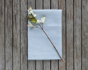 Linen Napkins Set,Blue Linen Napkins,Linen Napkins,Pure Linen Napkin,Softened Linen Napkins,Table Linen,Washed Blue Linen,Mothers Day Gift