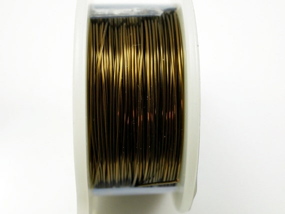24 gauge craft wire vintage bronze craft wire jewelry wire for 24 gauge craft wire