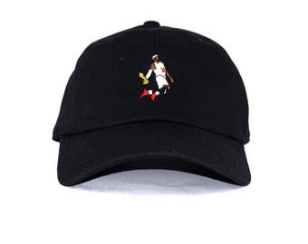 Lebron james Dunking Dad hat embroidered NBA Cavs champ