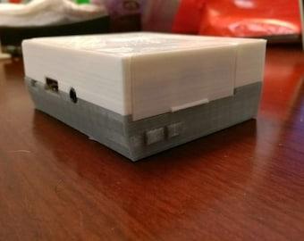 Baby Nintendo NES Raspberry Pi 3 Case - 3D Printed