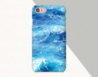 Ocean Phone Case, Blue Marble iPhone 6 Case, 7 6s Plus 5, Samsung Galaxy S7, S6 S5, Edge, Note, Tough Phone Case, Lg G5, Moto G Water