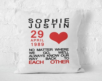 Back To Each Other Cushion Cover