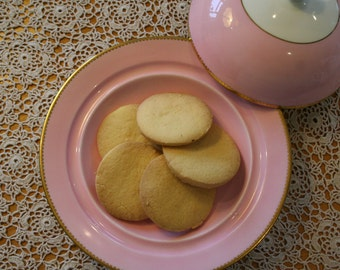 Gluten and Lactose Free Vegan Shortbread Biscuits