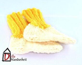 Baby socks (knit)