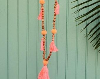 Necklace coral BALI
