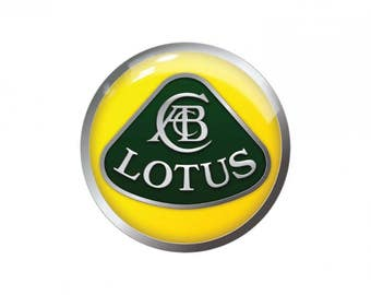 4x 55m Lotus emblems for rims