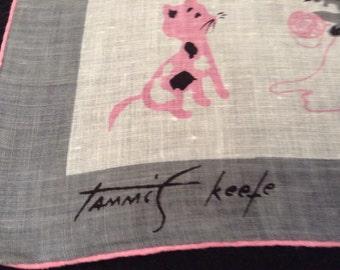 Tammis Keefe Vintage Handkerchief
