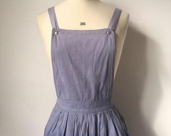 Genuine Industrial Vintage Utility Pinafore Dress w/ Adjustable Straps
