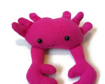 Happy Crab mini plush