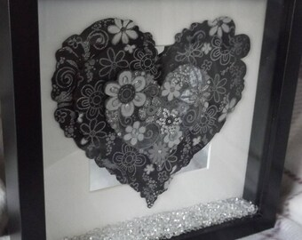 3D framed heart with a difference