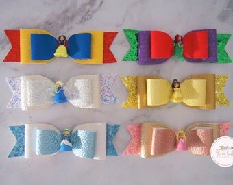 Princess Headbands - Disney inspired only - hair clips or headbands - thin nylon or alligator clip - PRE-ORDER
