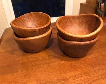 Teak bowls by Goodwood