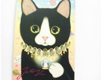 Fairytales Jetoy Cat Postcards