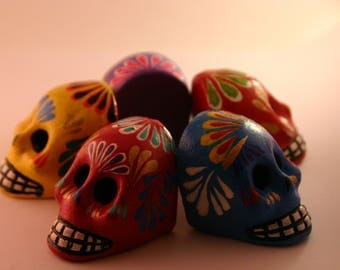 Handcrafted Mexican Skulls