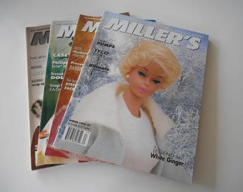 Four Vintage Miller's Magazine for the Barbie Collector, featuring some great articles!