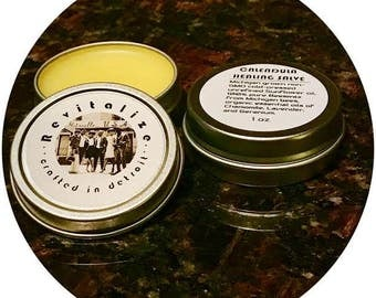 Calendula Skin Salve / Healing Skin Salve / Michigan Ingredients / Handcrafted in Detroit / All Natural Skin Care / Skin Salve