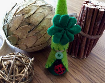 Four Leafed Clover Gnome
