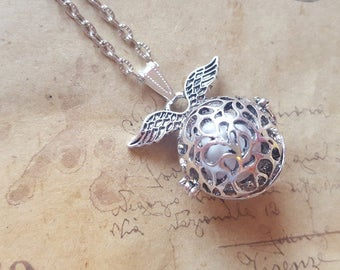 Angel Rufer chain with wings ~ silver ~
