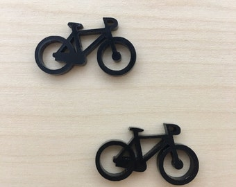 Bicycle 3 - Small Stud/Dangle Pair