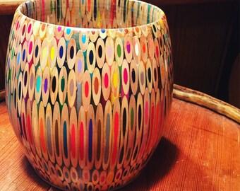 Colored Pencil Bowl