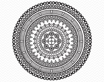 Mandala svg – Etsy